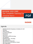 RADWIN 5000 PtMP Training Course