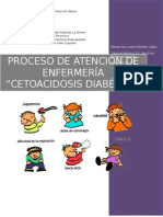 Proceso Atención de Enfermeria Cetoacidosis Marzo 2015