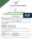 Bando Regata di Mestre Circuito Intersociale 2015 PDF