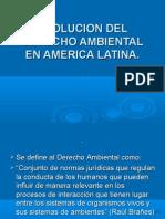 2.-  Evolución D. A. en Ameríca Latina