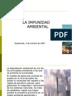 Impunidad ambiental