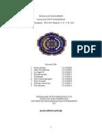 makalah manajemen Analisis Swot Puskesmas