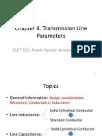 Transmission Line Parameters