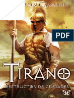 Cameron, Christian - [Tirano 05] Destructor de Ciudades