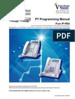 NCP Panasonic Digital Phone Programming Manual