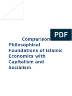 Islamic Economics vs Capitalism and Socialism