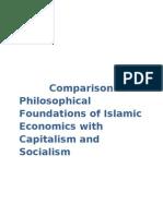 Islamic Economics vs Capitalism and Socialism
