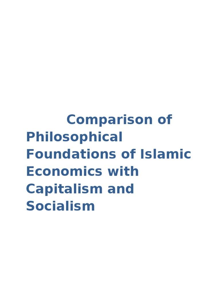 Уникальность 74_98% - ok-Sample Essay on Comparison between Capitalism, Socialism and Islamic Economics one of them