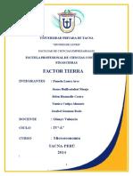 Factor Tierra