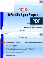 Six Sigma Presentation - Espanol