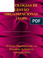 01- O Gestor Organizacional e as Demandas da Empresa Contemporânea