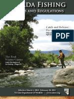 2010 Nevada Fishing Seasons and Regulations