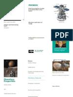 planet brochure creation