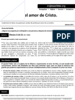 HCV - Conociendo El Amor de Cristo - 30Ago2015