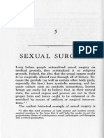 Thomas Szasz on Sexual Surgery