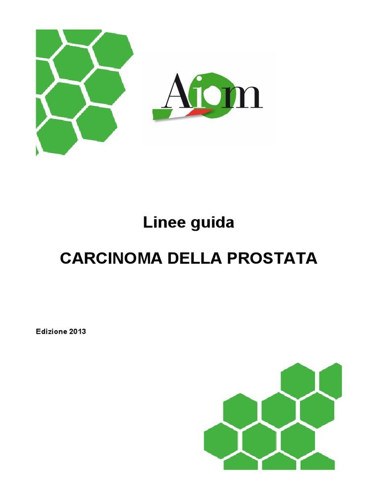 terapia carcinoma prostatico linee guida en