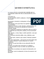 Catequesis o Enseñanza_vicente Ayel