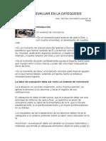 CÓMO EVALUAR EN LA CATEQUESIS_Tere Fdez. del Castillo Y Lucrecia R. de Planas.doc