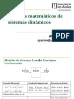 Modelos Matemáticos Sistemas de Control