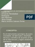 Generalidades Del Instrumental Quirurgico