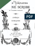 Auber - Scribe - Haydée - livret libretto french