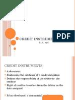 Credit Instrument