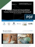 Congreso Internacional Turismo Sostenible Balneario Termas Pallarés