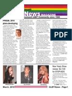 GLBT News March 2010 e.mailer