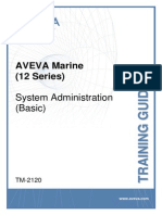TM-2120 AVEVA Marine (12 Series) System Administration Basic Rev 5.0