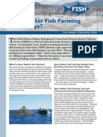 Open-Water Fish Farming in the Keys?