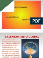 Calentamiento Global Un Tema Preucupante e Impact Ante