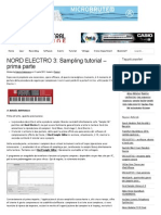 Nord Electro 3 SamplingTutorial (first part)