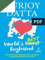 The Worlds Best Boyfriend Durjoy Datta
