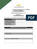 Formato No. 2 - Plan de Trabajo
