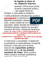 Aspecte Legale Si Etice in Psihiatrie