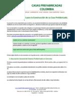 Informacion - Casas Prefabricadas Colombia
