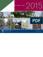 The Draft City of Hamilton Plan 2015