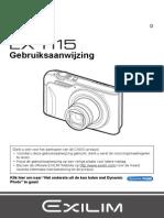 Casio Fototoestel EX-H15