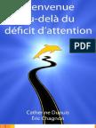 Bienvenue Au-delà Du Deficit Attention