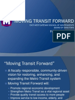 Moving Transit Forward - The Plan for St. Louis Mass Transit