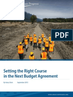 Setting the Right Course in the Next Budget Agreement