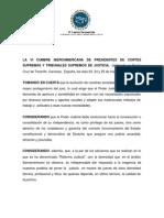 Estatuto Del Juez Iberoamericano