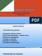 Parametros de Particula