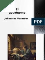 El Astrónomo, Johannes Vermeer