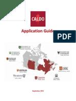 CALDO Application Guide