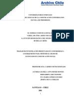Modelo Comunicacional - Expo 100 Años - Mnba