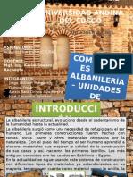 Componentes de La Albañilería