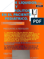 Manejo Hidroelectrolitico en pacientes pediatricos ppt.