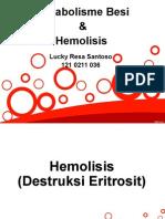 Hemolisis Dan Metabolisme Fe