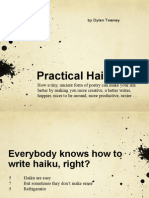 Practical Haiku